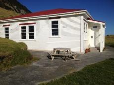 Cape Brett Hut - An old lighthousekeepers home.