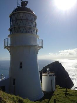 Cape Brett lighthouse.