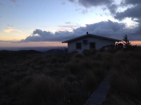 Mangahuehue Hut.