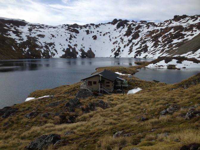 Lake Angelus Hut.