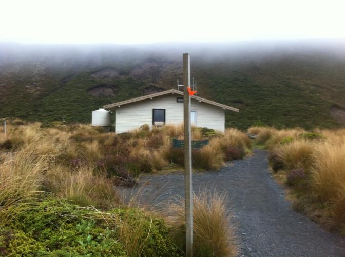 Mangatepopo Hut (Flashback)