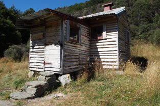 Chaffey Hut.
